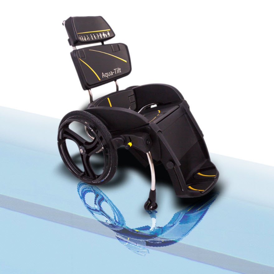 Aqua Tilt Wheelchair